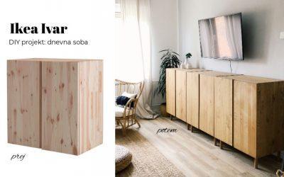 DIY: OMARICE ZA DNEVNO SOBO – IKEA IVAR