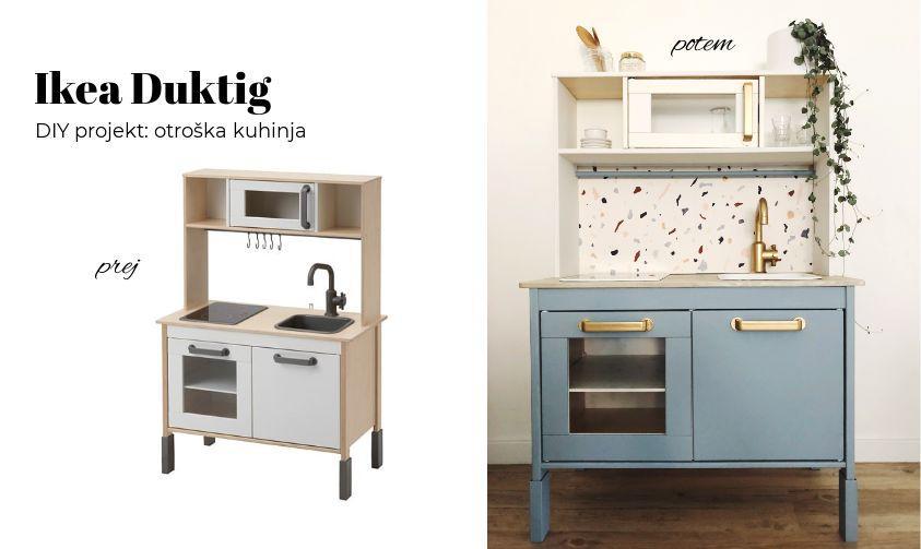 DIY: OTROŠKA KUHINJA – IKEA DUKTIG