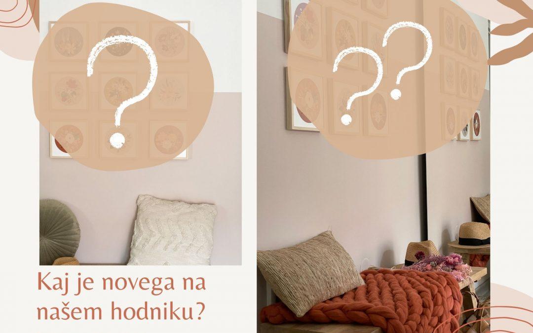 Kaj je novega na našem hodniku?