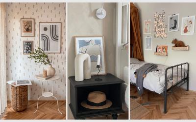 Novi printi v spalnici in otroški sobi – Desenio (koda za popust)